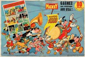 Le journal de Mickey 1000