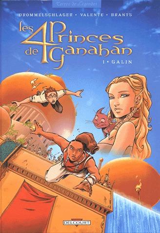 Les 4 princes de Ganahan édition simple