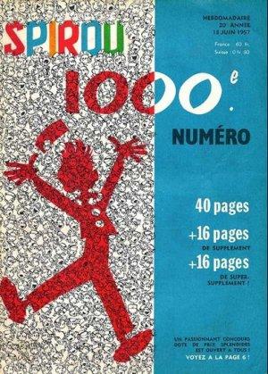 Album Spirou (recueil) # 1000