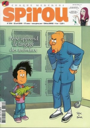 Le journal de Spirou # 3706