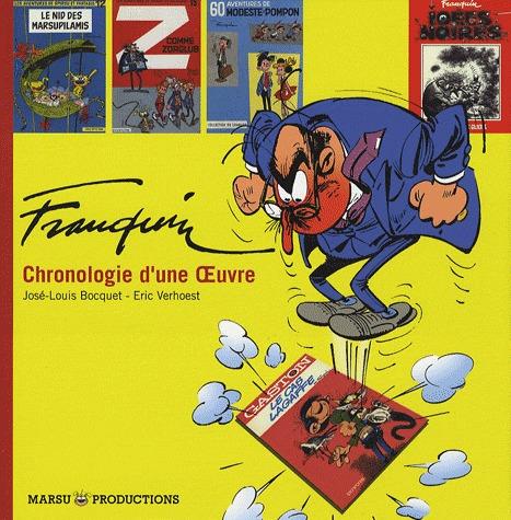 Franquin, chronologie d'une oeuvre édition Simple