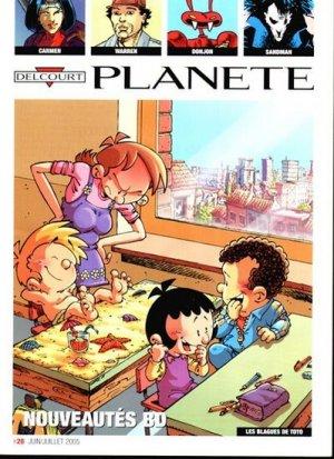 Delcourt Planète édition Simple