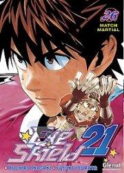 couverture, jaquette Eye Shield 21 26  (Glénat Manga)
