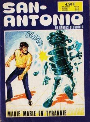 Les aventures du commissaire San-Antonio édition Simple
