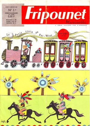 Fripounet Marisette édition 1968