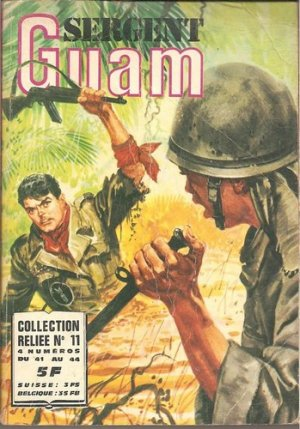 Sergent Guam # 11 Intégrale