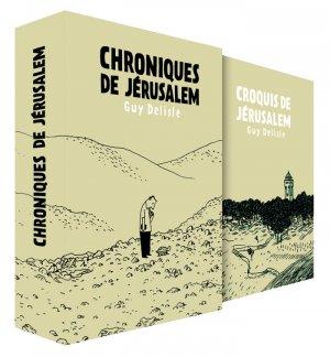 Chroniques de Jérusalem édition Coffret limité