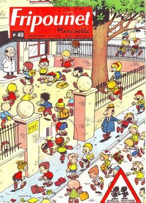Fripounet Marisette édition 1965