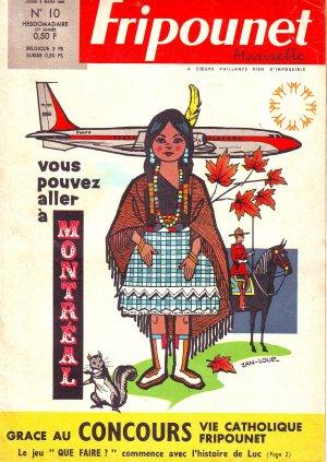 Fripounet Marisette édition 1967