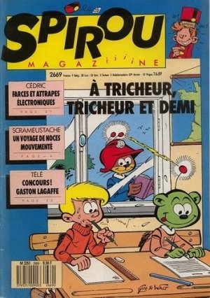 Album Spirou (recueil) # 2669