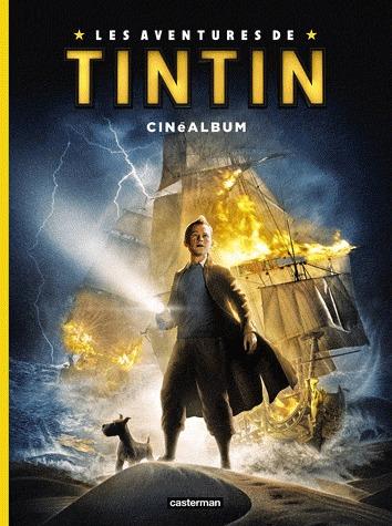 Les aventures de Tintin - Cinéalbum édition simple