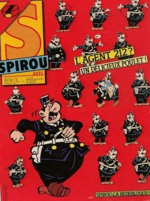Album Spirou (recueil) # 2431
