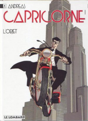 couverture, jaquette Capricorne 1  - L'objet (le lombard)