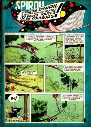 Album Spirou (recueil) # 989