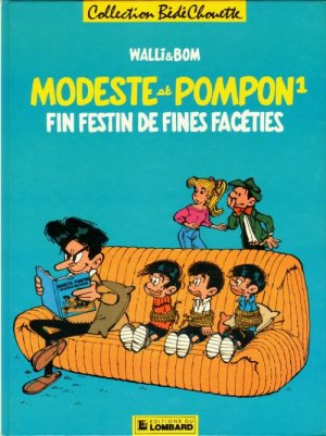 Modeste et Pompon (Walli) édition Simple