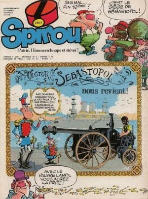 Album Spirou (recueil) # 2107