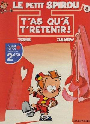 Le petit Spirou édition Réédition Ouest France