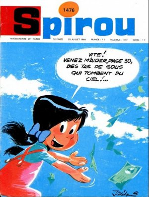 Album Spirou (recueil) # 1476