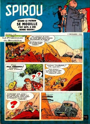 Album Spirou (recueil) # 1077