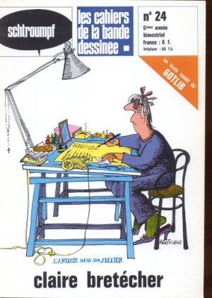 Schtroumpf Les cahiers de la bande dessinée # 24