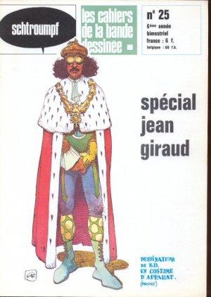 Schtroumpf Les cahiers de la bande dessinée # 25