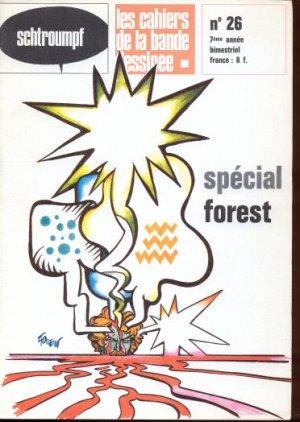 Schtroumpf Les cahiers de la bande dessinée # 26