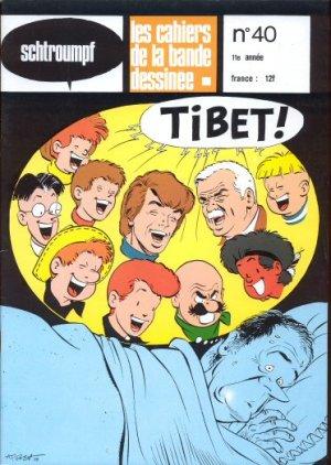 Schtroumpf Les cahiers de la bande dessinée # 40