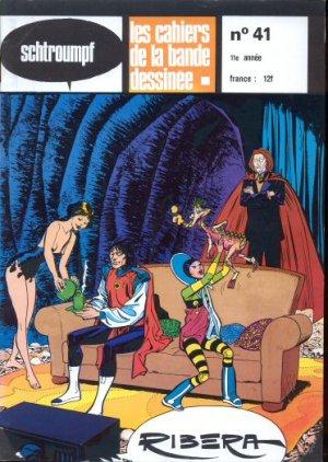 Schtroumpf Les cahiers de la bande dessinée # 41