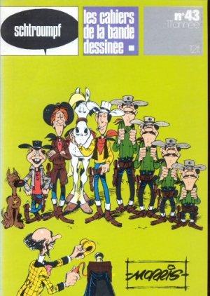 Schtroumpf Les cahiers de la bande dessinée # 43