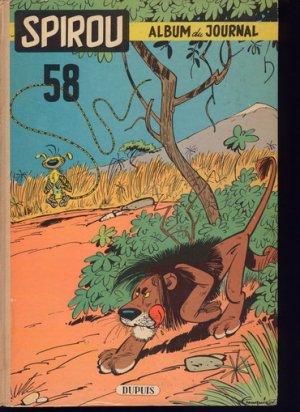 Le journal de Spirou # 58 Recueil