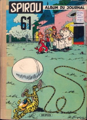 Le journal de Spirou # 61 Recueil