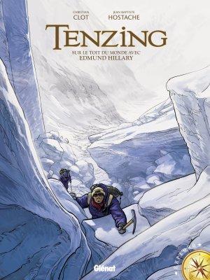 Tenzing : Sur le toit du monde avec Edmund Hillary édition simple