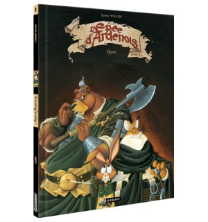 L'épée d'Ardenois édition Simple recolorisé 2013
