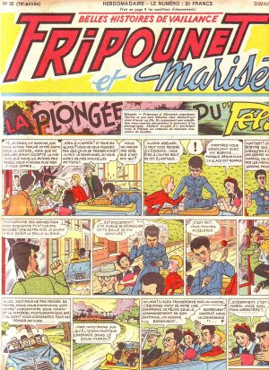 Fripounet Marisette édition 1954