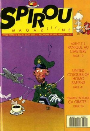 Album Spirou (recueil) # 2822