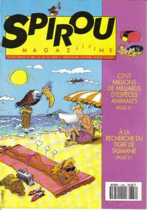 Album Spirou (recueil) # 2834