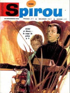 Album Spirou (recueil) # 1498