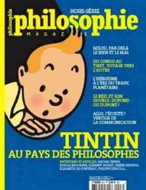 Tintin au pays des philosophes édition Hors série