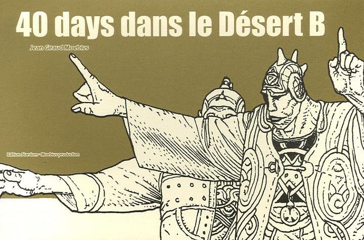 40 days dans le désert B édition Simple