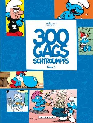 300 gags schtroumpfs édition simple