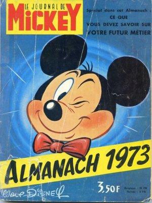 Le journal de Mickey - Almanach édition Simple