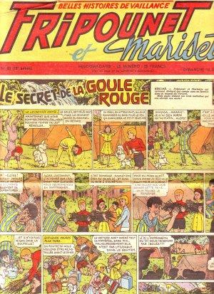 Fripounet Marisette édition 1956
