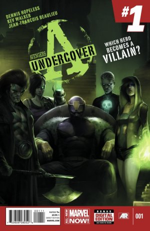 Avengers Undercover édition Issues
