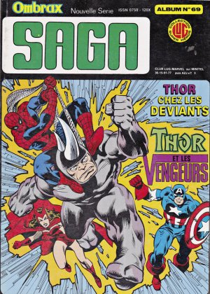 Ombrax Saga # 69 Reliure éditeur (1986 - 1987)