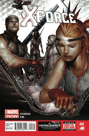 X-Force # 2 Issues V4 (2014 - 2015)