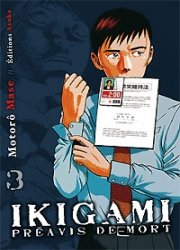 Ikigami - Préavis de Mort # 3 Simple