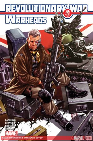 Revolutionary War - Warheads # 1 Issues (2014)