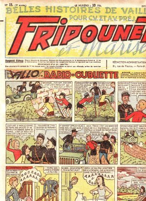 Fripounet Marisette édition 1948