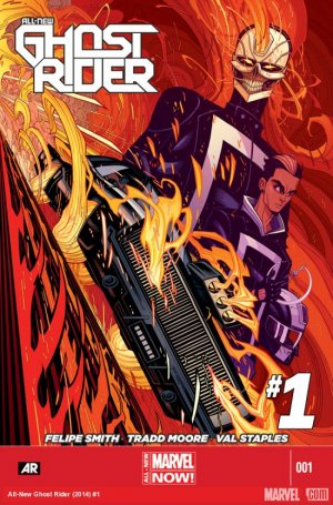 All-New Ghost Rider # 1 Issues (2014 - 2015)