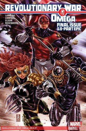 Revolutionary War - Omega # 1 Issues (2014)